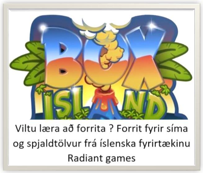 Viltu læra að forrita ? Forrit fyrir síma og spjaldtölvur frá íslenska fyrirtækinu Radiant games