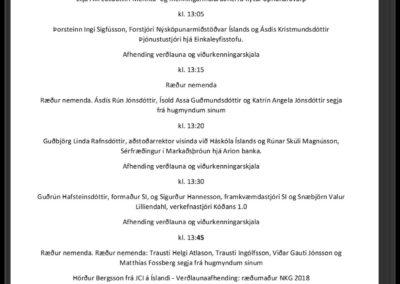 Úrslit og lokahóf Nýsköpunarkeppni grunnskólanna 2018