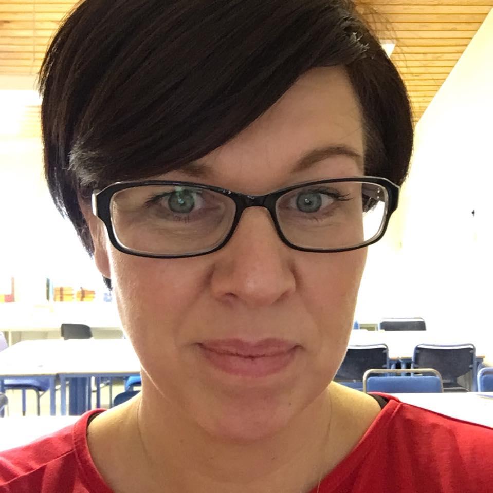 Arna Björk H. Gunnarsdóttir í Vesturbæjarskóla